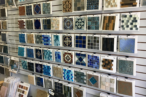 Pool Wall Tile Selections